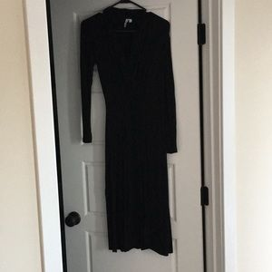 & Other Stories long black dress
